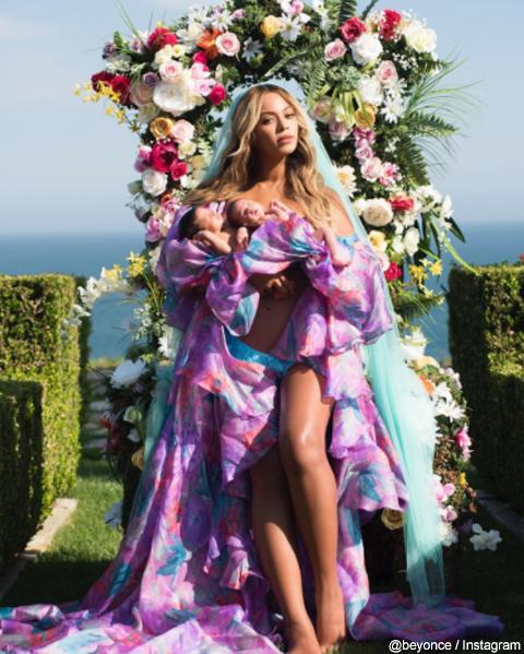 ビヨンセ、ついに双子の赤ちゃんの写真&名前を初公開! 美しすぎる写真にファン歓喜[写真あり]
