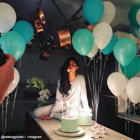 セレーナ・ゴメスの誕生日パーティ