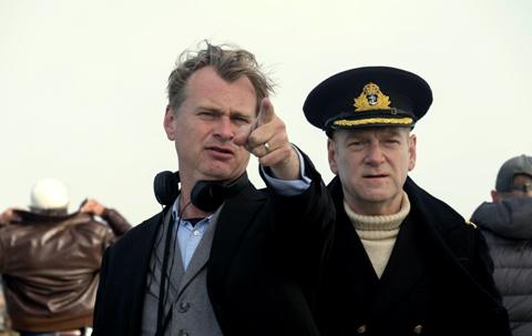 (左)クリストファー・ノーラン監督