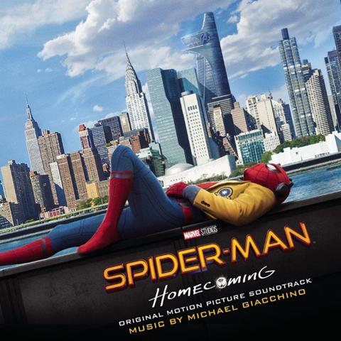 映画「スパイダーマン:ホームカミング」国内盤サントラ