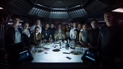 映画「エイリアン:コヴェナント」《最後の晩餐》