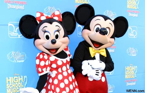 ミニーマウスとミッキーマウス
