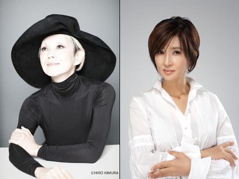 夏木マリ(左)、秋吉久美子