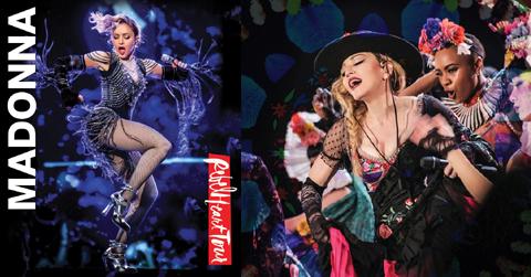 マドンナ、100万人を動員した「レベル・ハート・ツアー」のライヴ・アルバムが9月15日発売決定! ブルーレイ&DVDもリリース