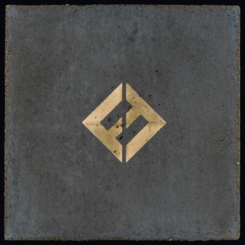 フー・ファイターズ「コンクリート・アンド・ゴールド」ジャケット写真