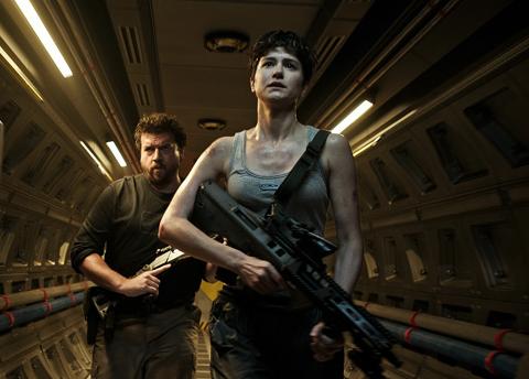 「エイリアン:コヴェナント」で新ヒロイン役のダニエルズを演じたキャサリン・ウォーターストン
