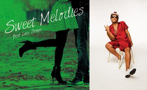 CD「スウィート・メロディーズ~ベスト・ラヴ・ソングス」 / ブルーノ・マーズ