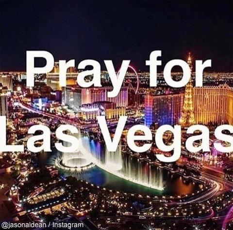 「ラスベガスのため祈りを」