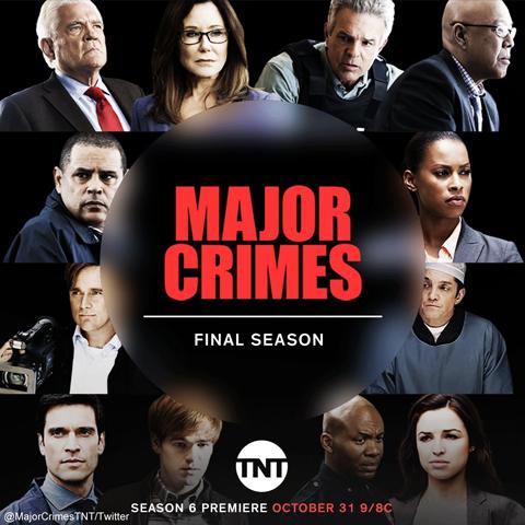 米TNT、「Major Crimes~重大犯罪課」シーズン6での放送終了を決定