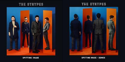「スピッティング・イメージ」(左)、「Spitting Image (Demos EP)」