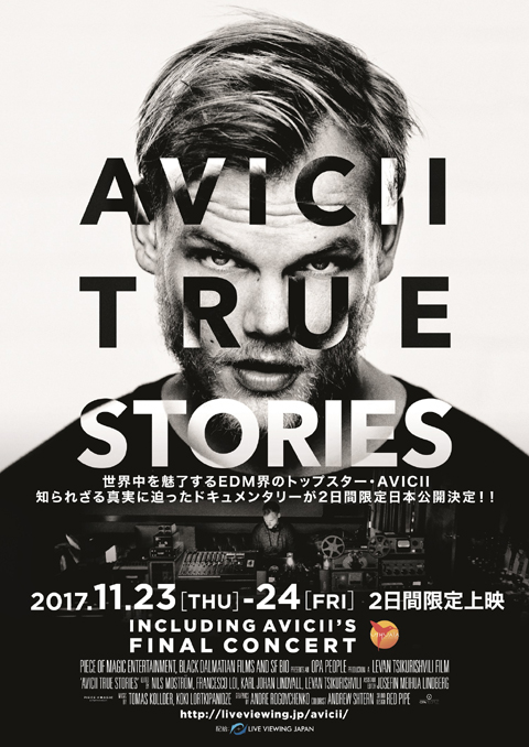 「AVICII: TRUE STORIES」