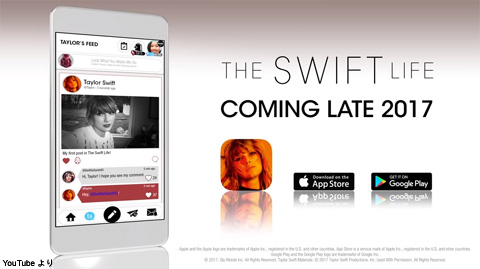 アプリ「The Swift Life」