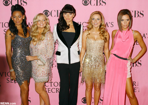 「スパイス・ガールズ」 2007年の再結成時、「Victoria's Secret」ファッションショーに出演