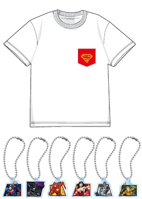東京コミコン限定、Tシャツ、アクリルキーホルダー