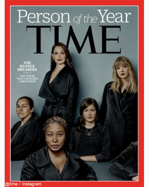 「TIME」誌の表紙を飾った、「THE SILENCE BREAKERS」