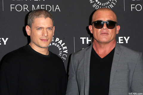 (左から)マイケル役ウェントワース・ミラー、ドミニク・パーセル