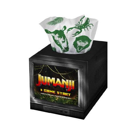「ジュマンジ/ウェルカム・トゥ・ジャングル」劇場前売り券の特典