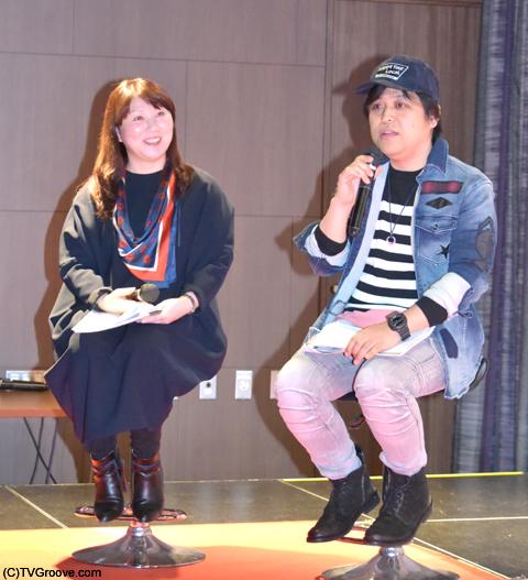 TSUTAYAの中山知美さんと、TVグルーヴ編集長の清水裕一