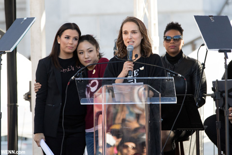 ナタリー・ポートマン 2018年1月「The Women's March」にて