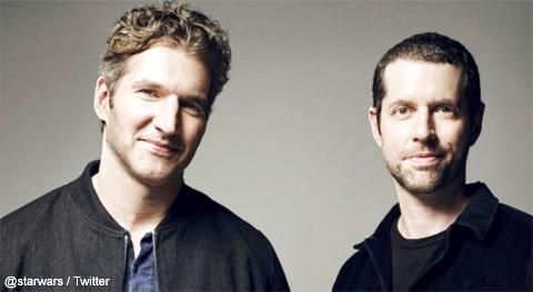 デイヴィッド・ベニオフ(左)とD・B・ワイス