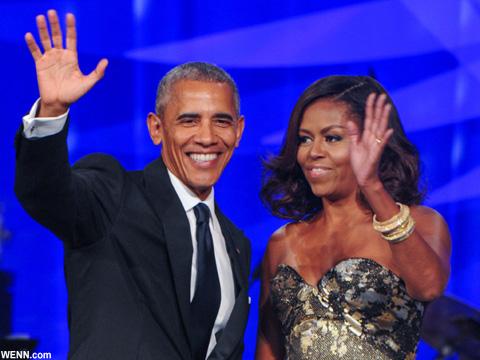 バラク&ミシェル・オバマ夫妻