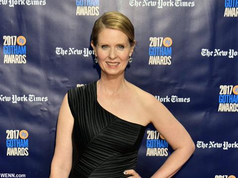 「セックス・アンド・ザ・シティ」ミランダ役シンシア・ニクソン、米ニューヨーク州知事選に立候補表明