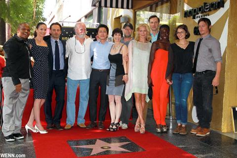ジェフリー・デマンを含む、2012年当時の「ウォーキング・デッド」出演者たち