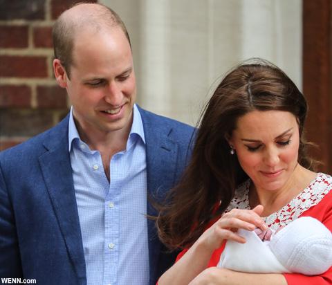 キャサリン妃、ウィリアム王子と第三子