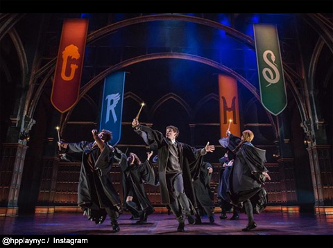 「Harry Potter and the Cursed Child」ブロードウェイ公演より