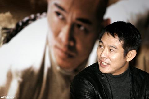 かつてのジェット・リー 2006年撮影