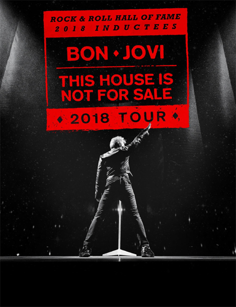 Bon Jovi This House Is Not For Sale Tour