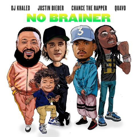 DJキャレド「ノー・ブレイナー feat. ジャスティン・ビーバー、 チャンス・ザ・ラッパー & クエヴォ」