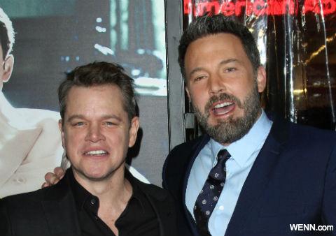 マット・デイモン(左)、ベン・アフレック