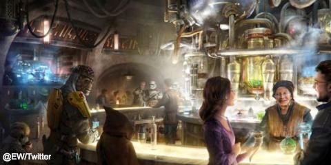 米ディズニーランドで飲酒が可能に! 新エリア「Star Wars: Galaxy's Edge」に酒場が完成予定