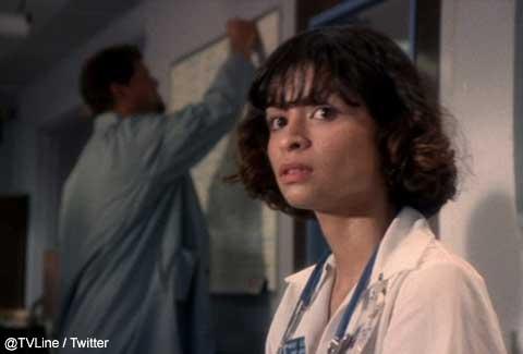 「ER」ウェンディ・ゴールドマン役を演じた、ヴァネッサ・マルケス