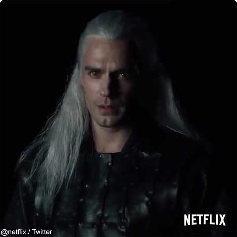 「The Witcher」より、ヘンリー・カヴィル