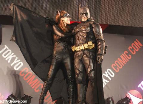 キャットウーマンとバットマン
