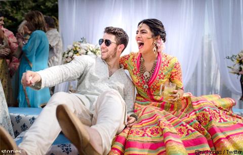 ニック・ジョナス&プリヤンカー・チョープラーが正式に結婚! インドでの豪華な結婚式の写真を公開[写真あり]
