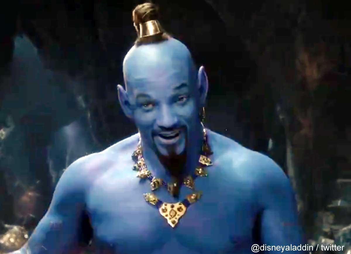 実写版「アラジン」の新たな予告編が公開! ジーニーを演じる「青いウィル・スミス」が衝撃的と話題[動画あり]