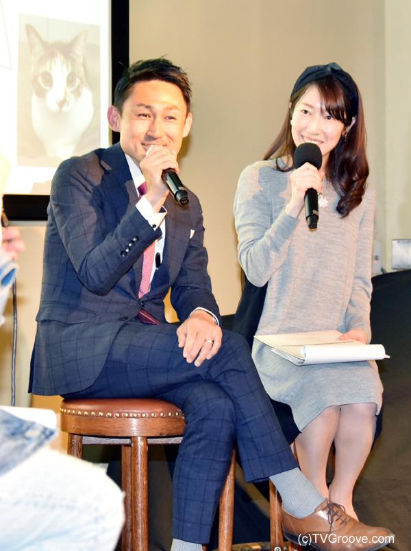 英国翻訳者・通訳者 川合 亮平(左)、池辺 愛(右)