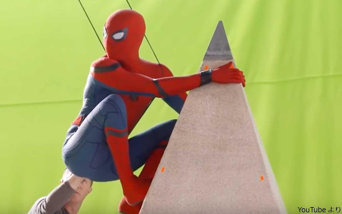 「スパイダーマン」の撮影舞台裏