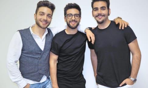 Il Volo (左から)ジャンルカ、ピエロ、イニャツィオ