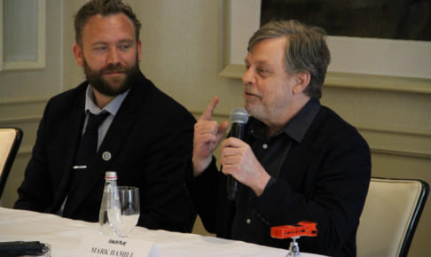 (右)マーク・ハミル