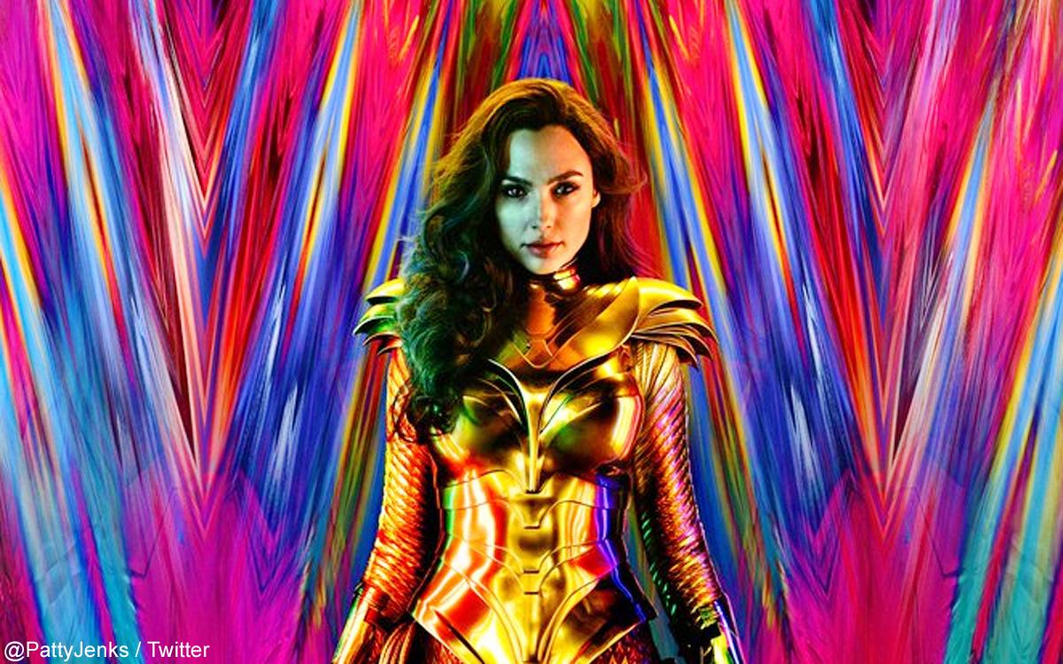 「Wonder Woman 1984(原題)」のポスター