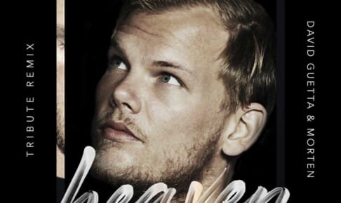 Avicii「Heaven David Guetta & MORTEN Tribute Remix」ジャケット写真