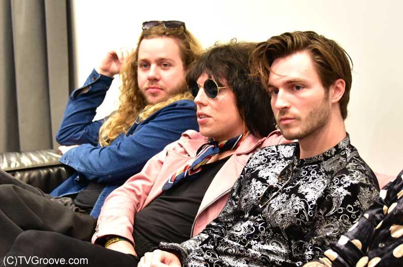 左からアダム、ルーク、ジェド