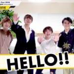 ravis Japan 公演直前メッセージ映像キャプチャー