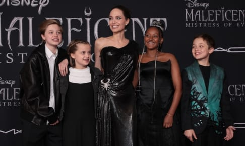 『マレフィセント2』アンジーと子供たち