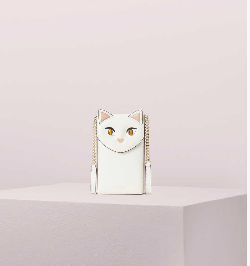 cat iphone case(white)