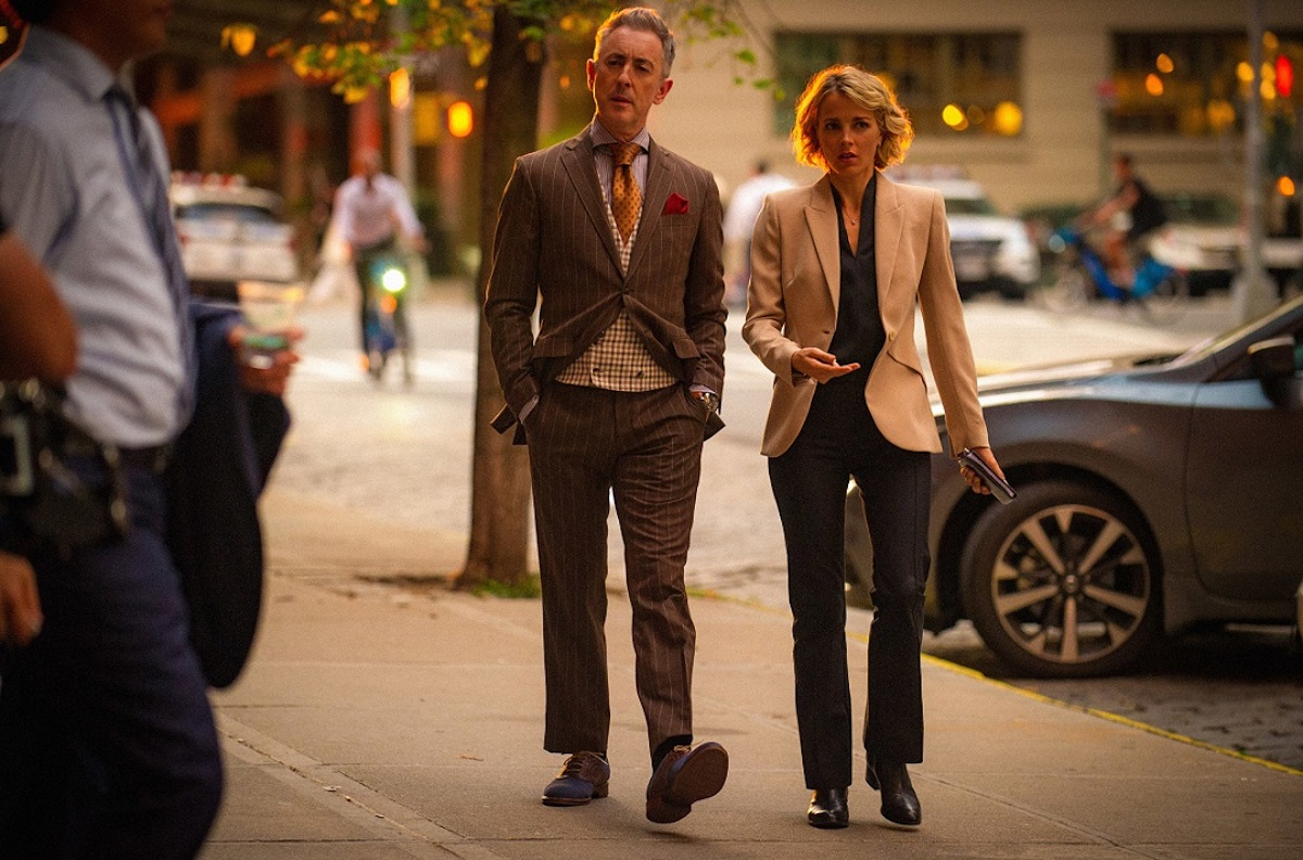 """INSTINCT returns for its second season Sunday, June 30 (9:00-10:00 PM, ET/PT). In season two, NYPD consultant Dylan Reinhart (Alan Cumming, pictured here) is reinstated after being put on leave, just in time to join his partner, NYPD detective Lizzie Needham (Bojana Novakovic, pictured here), on their new case, the """"Sleeping Beauty Killer."""" Photo: Jeff Neira/CBS ©2018 CBS Broadcasting, Inc. All Rights Reserved"""